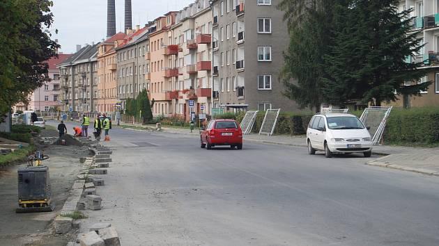 Dopravní omezení na nábřeží Edvarda Beneše v Přerově od pondělí končí.