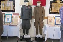 Výstava T. G. Masaryk a legie v kojetínské galerii Vzdělávacího a informačního centra