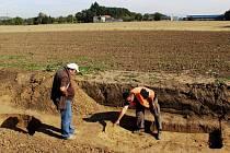 Archeologický výzkum na dálnici Lipník - Přerov
