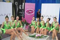 Osmé na světě! Gymnastky Velkého Týnce splnily svůj cíl, když se probojovaly se do velkého finále.