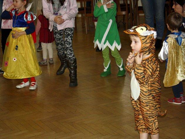 Maškarní ples pro děti v Přerově