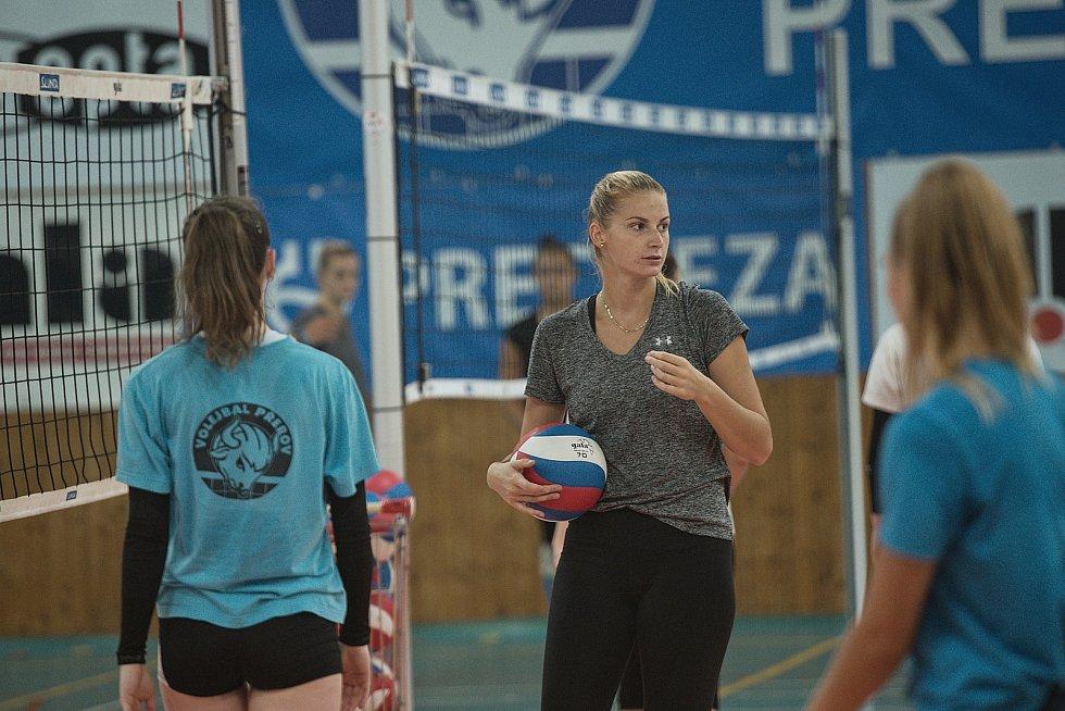 Volejbalistky Přerova se připravují na novou sezonu. Anna Přibylová
