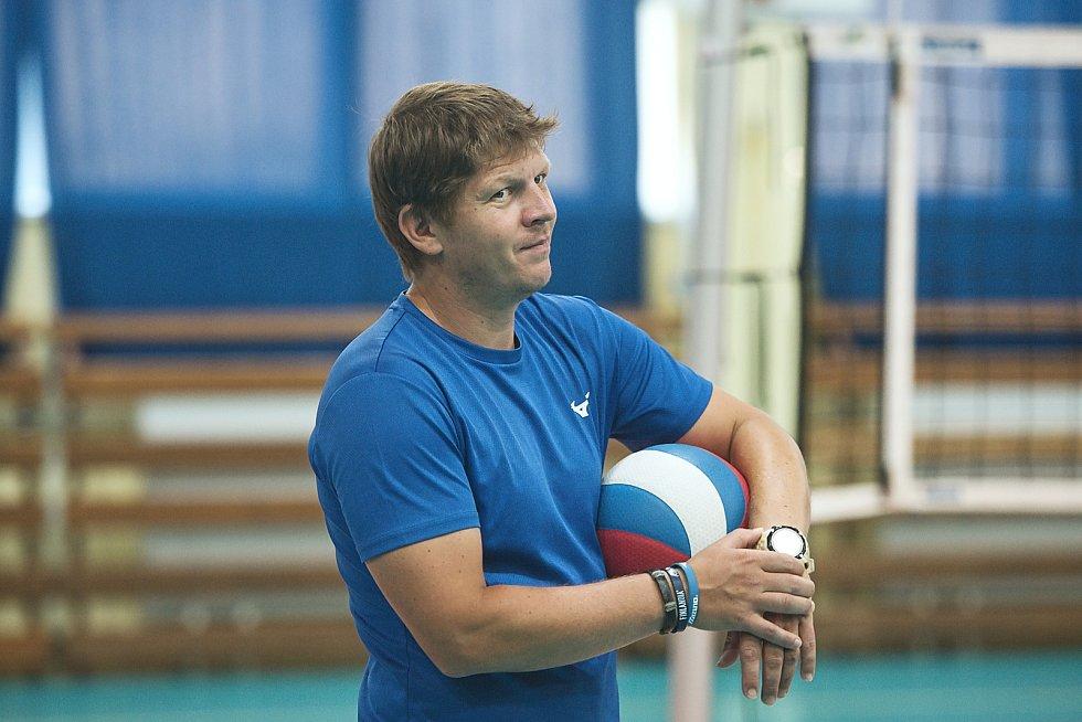 Volejbalistky Přerova se připravují na novou sezonu. Radim Vlček