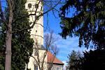 Spanilá věž v Tovačově