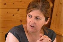 Kateřina Řiháková, starostka obce Lhota