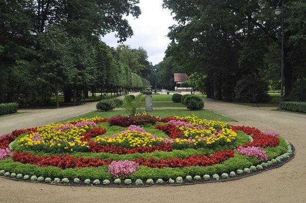 Přerovský park Michalov. Ilustrační foto