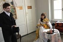 Výstava s názvem Tou knihou jsem si zamiloval Japonsko v Muzeu Komenského v Přerově