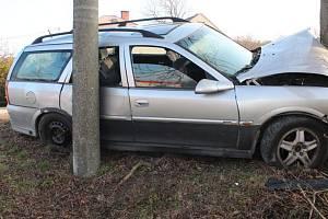 Dopravní nehoda v Lipině, 18. 3. 2020