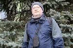 Přerovský ornitolog Jiří Šafránek.