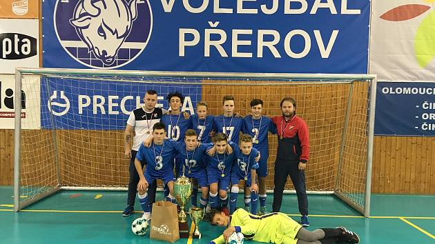 Fotbalservis.cz Cup 2019 pro hráče do 14 let v Přerově ovládl po roce opět Baník Ostrava.