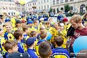 Modrožlutý pochod v Přerově