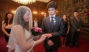 Svatba nanečisto deváťáků z tovačovské základní školy