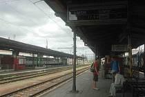 Vlaky z Kojetína do Přerova měly v pondělí zpoždění kvůli opravám na trati