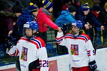 Hokej U17 v Přerově: Česko - Finsko