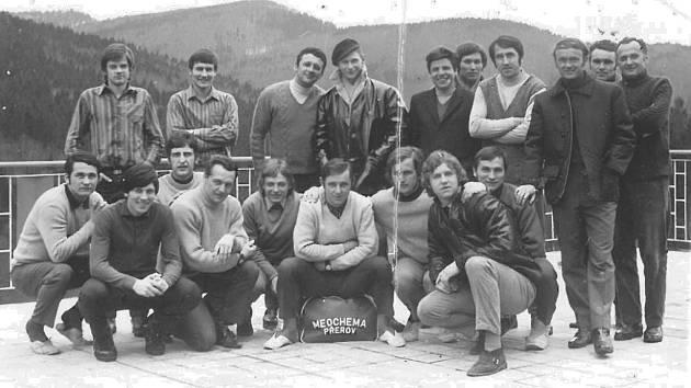 V rove 1971 vyrazili fotbalisté Meopty Přerov na soustředění na Rusavu.