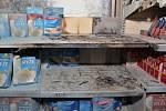 Mladík v přerovském supermarketu v Denisově ulici zapálil regál s rýží