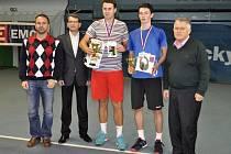 Již 27. ročník prestižního juniorského turnaje ITF se odehrál od 11. do 18 ledna v hale přerovského Spartaku.Vyhlášení výsledků, chlapci