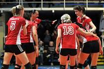 PVK Precheza (v červeném) – Olymp Praha - 4. semifinále