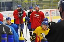 Hokejisté HC ZUBR Přerov na tréninku