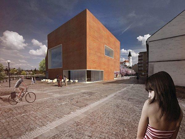 Návrh podoby nové knihovny vPřerově od Martina Šafáře