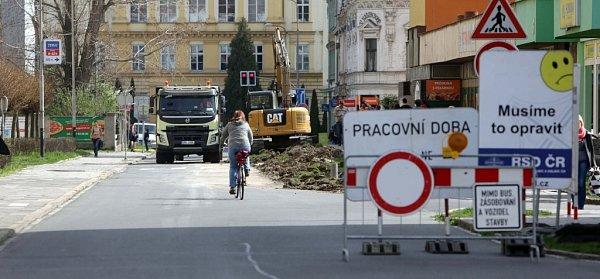 Rozšiřování Palackého ulice vPřerově