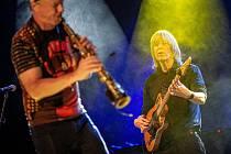 Československý jazzový festival v Přerově. Mike Stern / Bill Evans Band (USA).