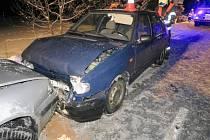Nehoda u obce Křtomil, 13. února 2021