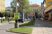 Palackého ulice v Přerově se má rozšiřovat v úseku od ulice B. Němcové po Dr. Skaláka – směrem k místní samoobsluze.
