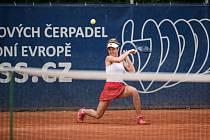 Tenisový Zubr Cup 2020 v Přerově. Linda Nosková