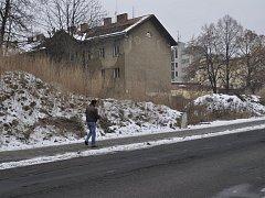 Ruiny bývalého romského ghetta ve Škodově ulici v Přerově