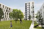 Návrh na využití lokality Brabansko podle jednoho ze studentů architektury -Luďka Šimoníka