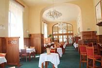 Restaurace Městského domu v Přerově pár dní před znovuotevřením 17. června 2021