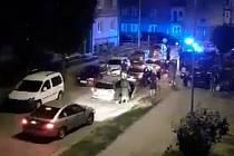 Konflikt rodin olašských Romů v Brtarské ulici v Přerově