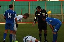 Přerov (v modrém) proti Morkovicím