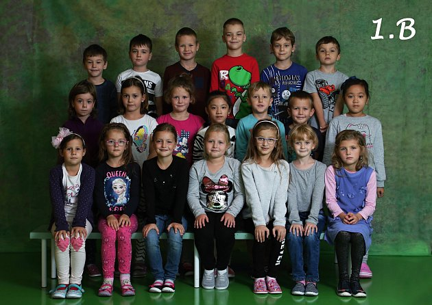 Základní škola Trávník, Přerov. 1.B. Třídní učitelka: Renata Skácelová