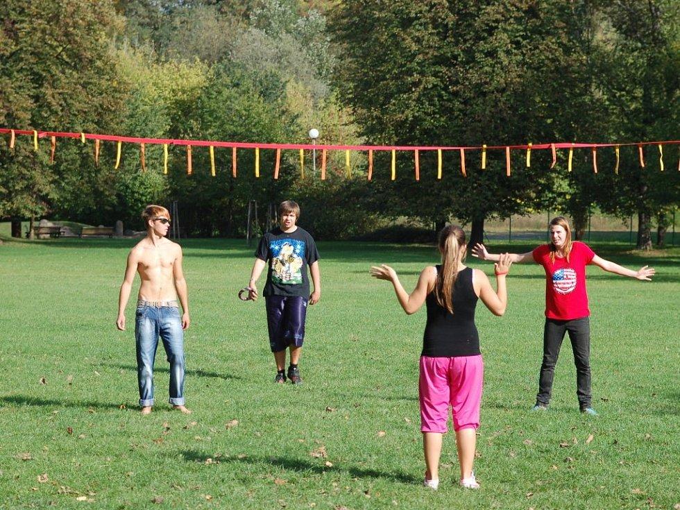 Den Duhy v přerovském parku Michalov - ringo