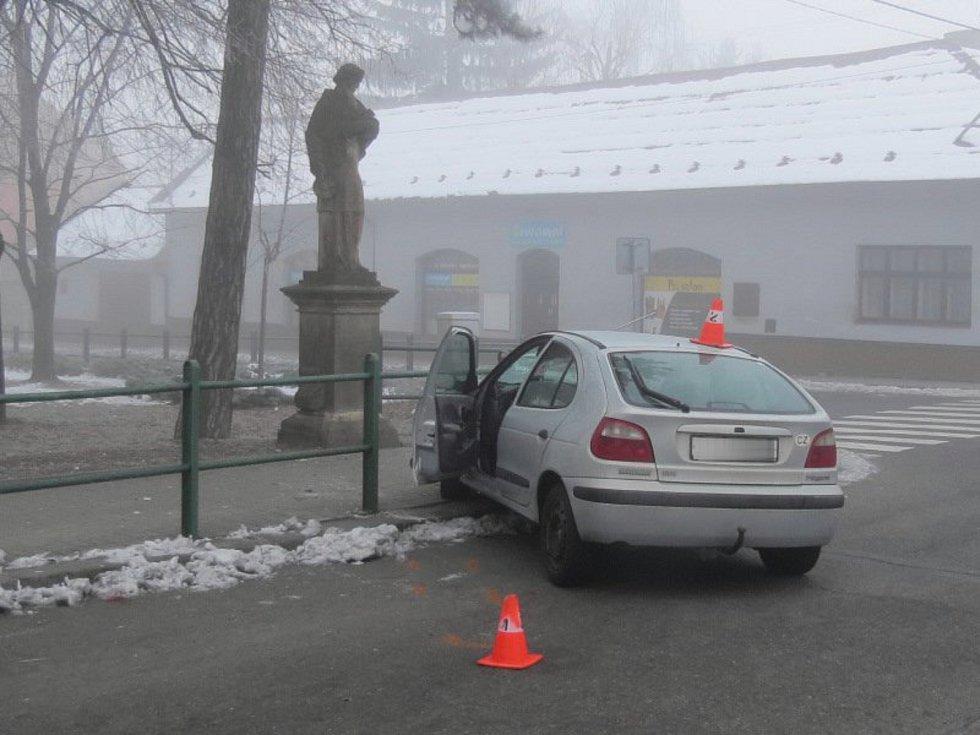 Následky nehody v Kojetíně