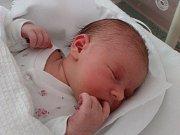 Valerie Prokopová, Přerov, narozena dne 17. května v Přerově, míra 51 cm, váha 3770 g