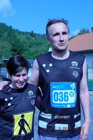 Marek Šimíček se svým vodičem.
