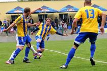 Fotbalisté Kozlovic. Ilustrační foto