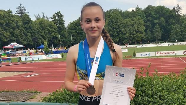 Dorostenka Tereza Válková má bronz z MČR.