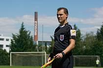 Rozhodčí Petr Caletka se zařadil mezi nejlepší rozhodčí v republice.