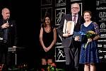 Vyhlášení Sportovce Olomouckého kraje za rok 2019 v Městském domě v Přerově.   Kateřina Korgerová, nejlepší handicapovaná sportovkyně