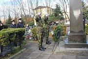 Den válečných veteránů na hřbitově v Přerově. Ilustrační foto