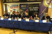 Tisková konference HC Zubr Přerov před startem sezony 2019/2020
