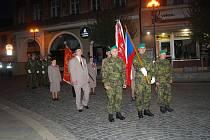 Oslavy 28. října a kladení věnců v Přerově
