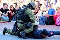 Ukázková akce Občan a bezpečnost v Přerově