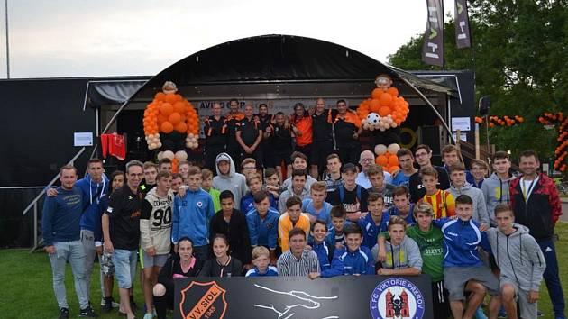 1. FC Viktorie Přerov v Holandsku se spřáteleným oddílem VV SIOL Cuijk.