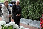 Pietním vzpomínkovým aktem na Městském hřbitově v Přerově uctili sedmdesáté výročí od brutální popravy 267 karpatských Němců na Švédských šancích příbuzní obětí, zástupci círvke, města, historici a další hosté.