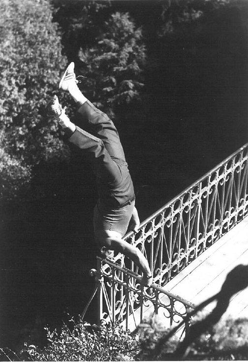 Venclovský byl sportovec tělem i duší a při tréninku se pouštěl i do krkolomných kousků, nad nimiž se mnoha smrtelníkům tají dech. Prostě je to už takový můj koníček…komentoval to ve své knize.